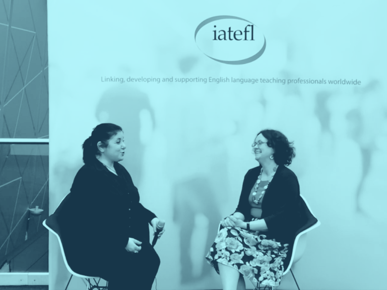 IATEFL Conference in Liverpool - Post Plenary Interview, April 2019